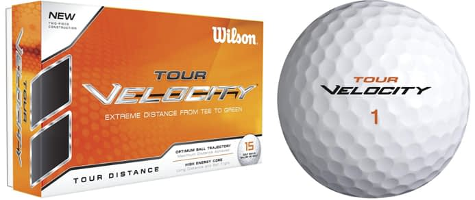 Wilson Golf Tour, Velocity Tour Distance Golf Balls