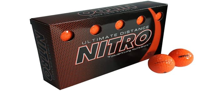 Nitro Ultimate Distance Golf Ball - The #1 Best Cheap Golf Ball