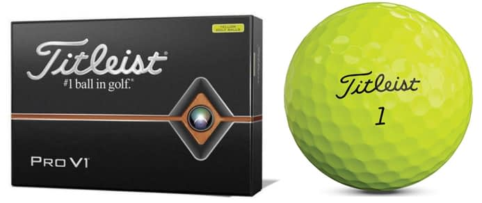 2- Titleist Pro V1 Golf Balls – Best cheap golf balls for low handicappers