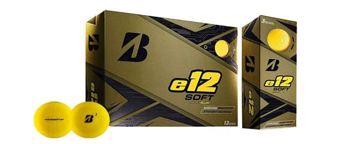 Bridgestone Golf e12 Soft Golf Balls - Best cheap balls in 2020